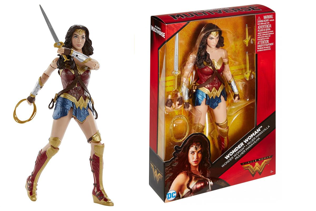 Dc Multiverse Wonder Woman Movie Action Figures By Mattel