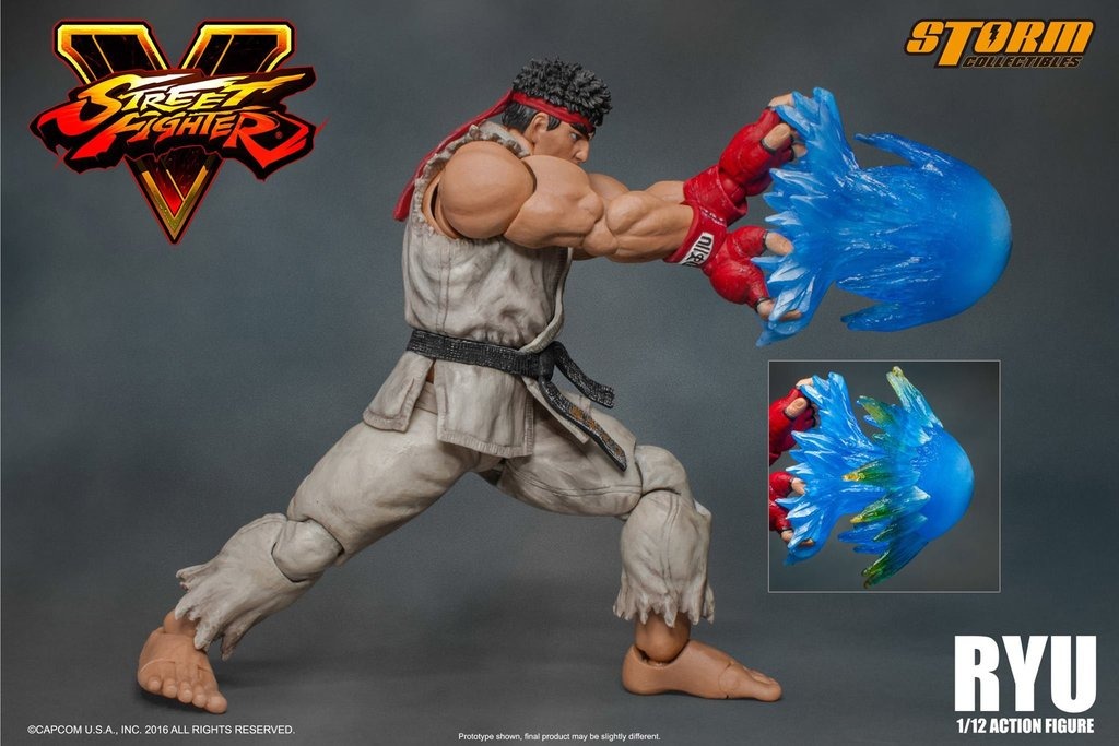 Street Fighter V Action Figures By Storm Collectibles