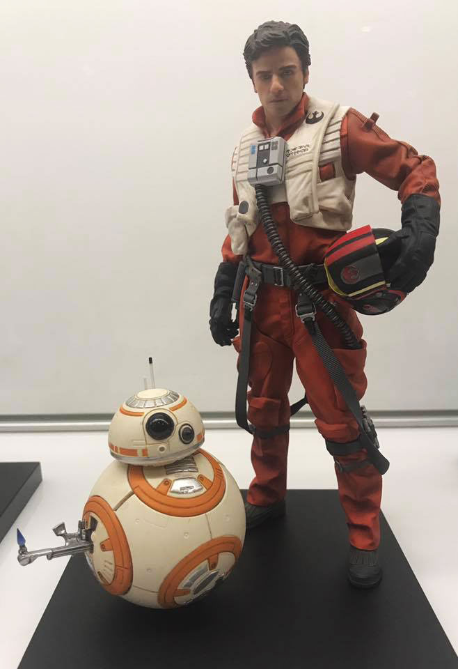 star-wars-celebration-kotobukiya-poe-dameron-bb8-statue