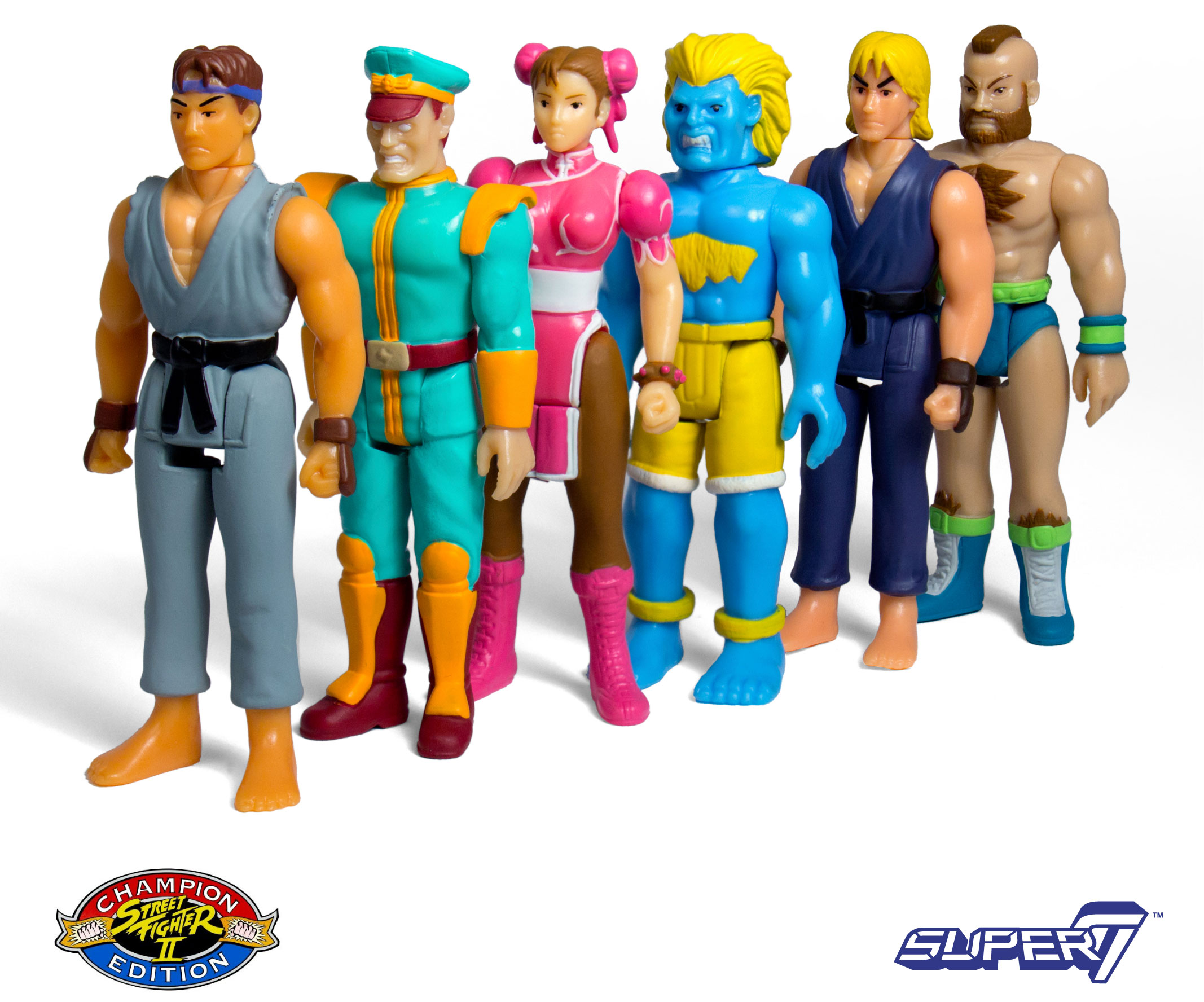 Street Fighter Ii Champion Edition Action Figures By