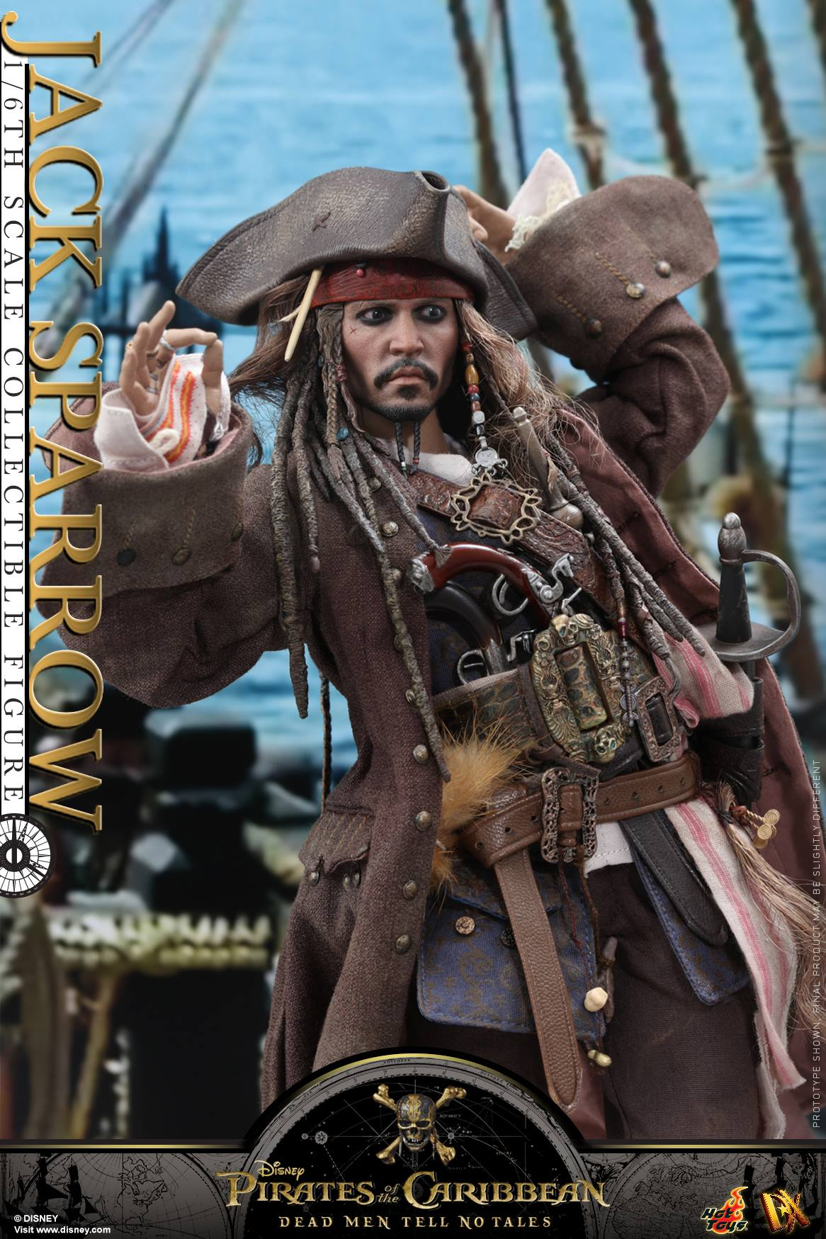 Pirates Of The Caribbean Toys : Pirates of the caribbean dead men tell no tales jack
