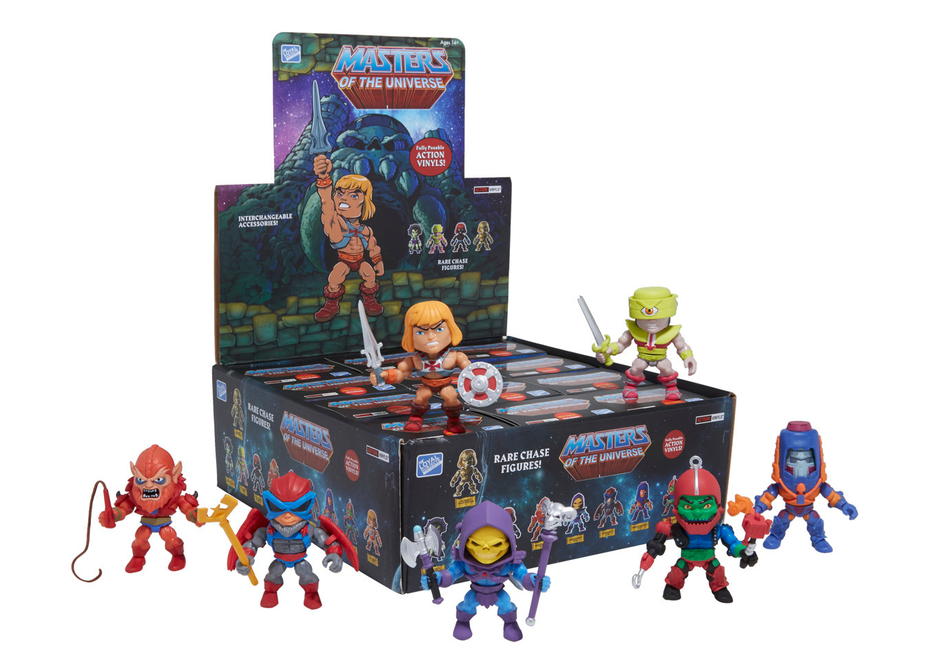 Masters Of The Universe X The Loyal Subjects Figures Hot