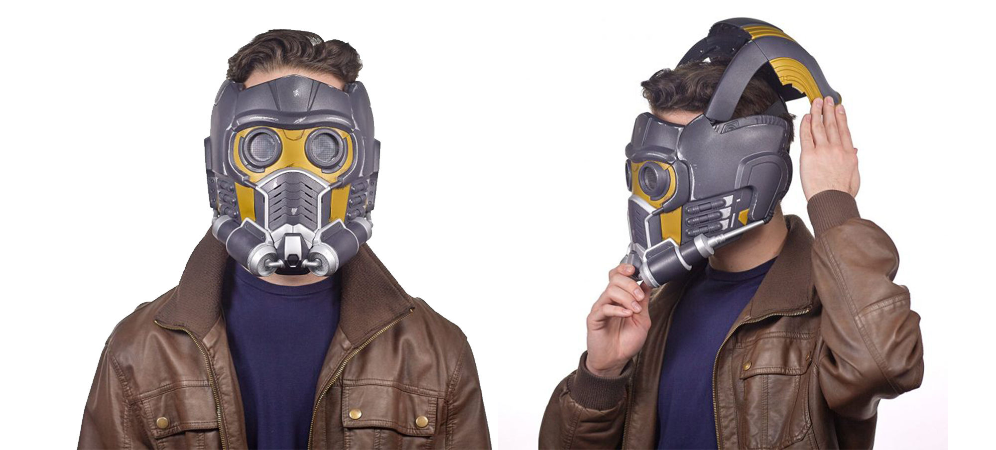 Marvel Legends Series Guardians of the Galaxy Star-Lord Electronic Helmet