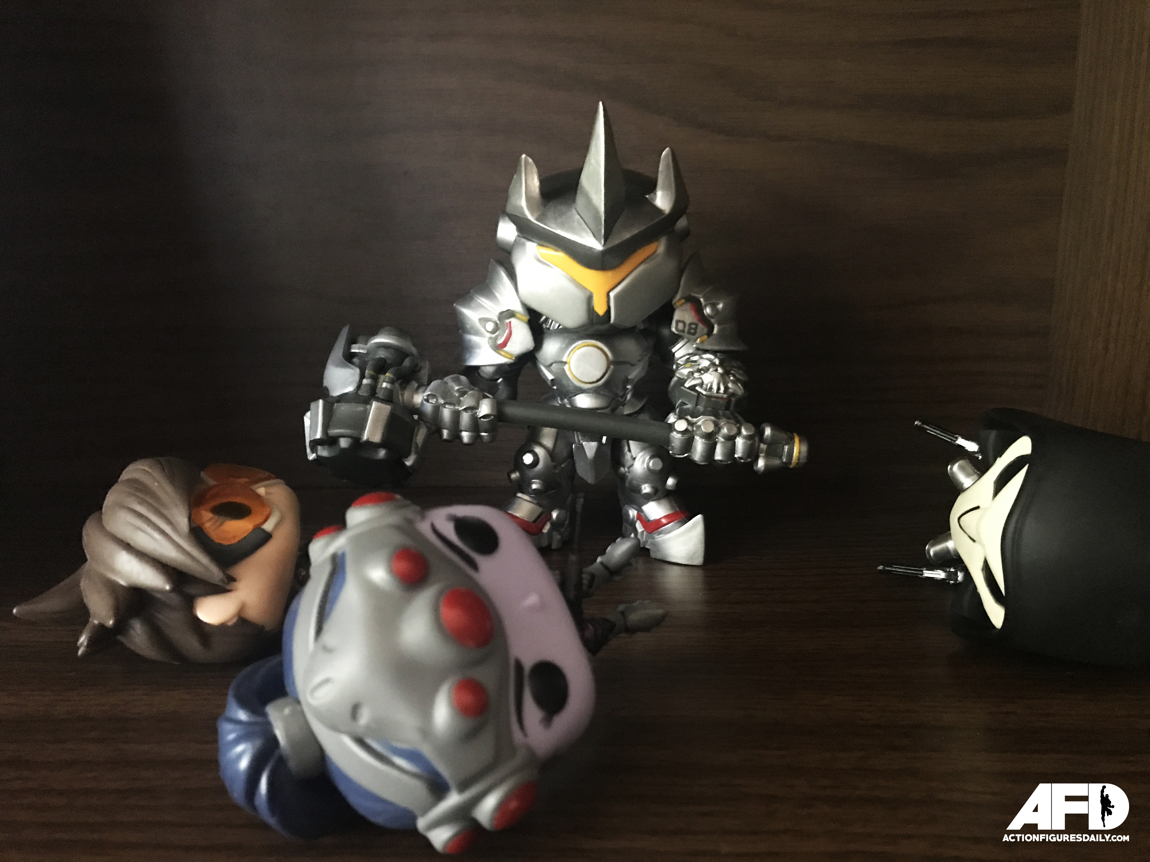 Action Figure Review Overwatch Reinhardt Pop Vinyl Figure