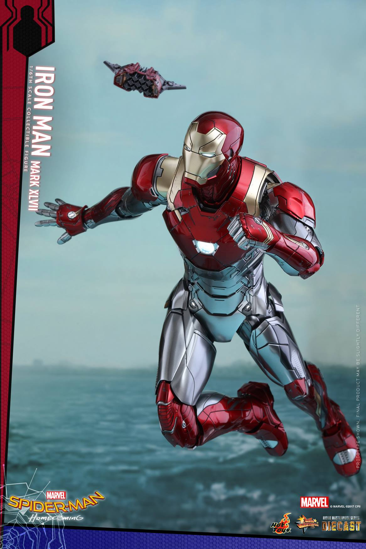 Spider Man Homecoming Iron Man Mark Xlvii Sixth Scale