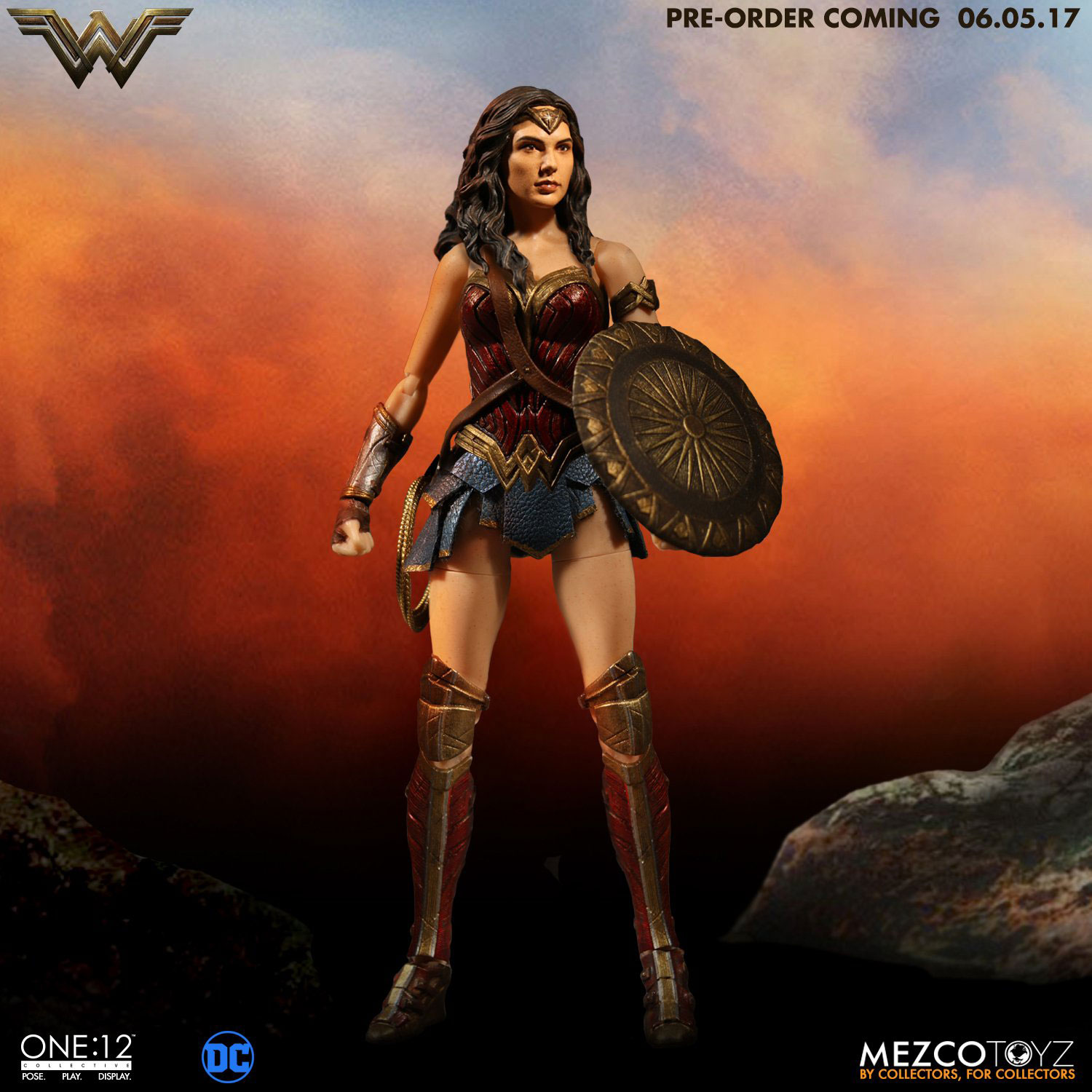 Mezco-One12-Collective-Wonder-Woman-Figure