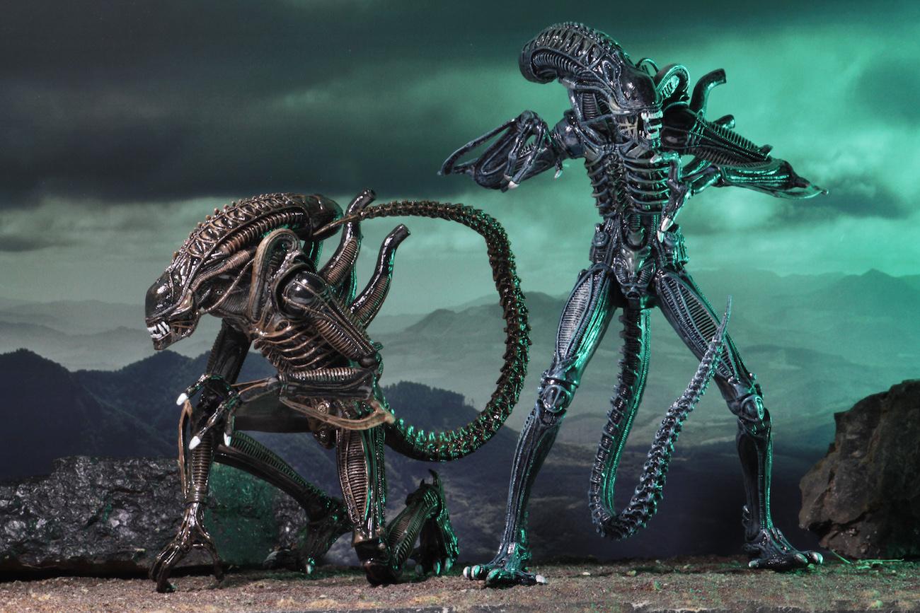 Aliens Ultimate Aliens Warrior 1986 Action Figures By Neca
