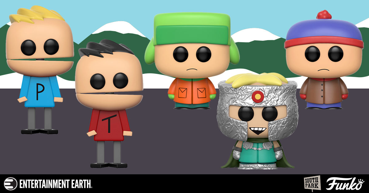 South Park Wave 2 Pop Vinyl Figures By Funko