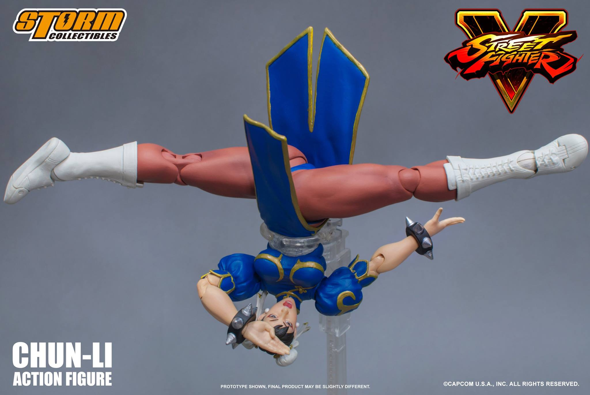 Street Fighter Chun Li Figure By Storm Collectibles