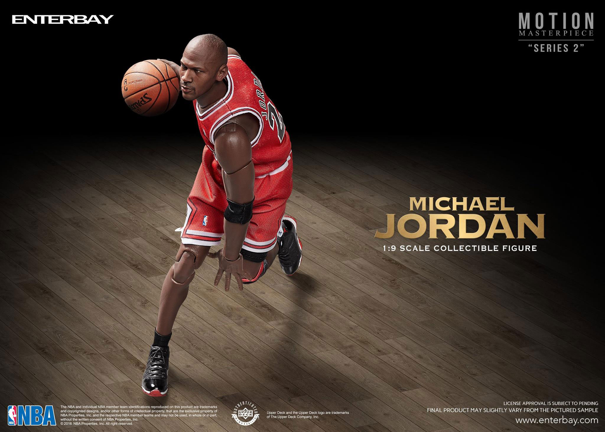 Running Of The Bulls Uniform Enterbay NBA Michael J...