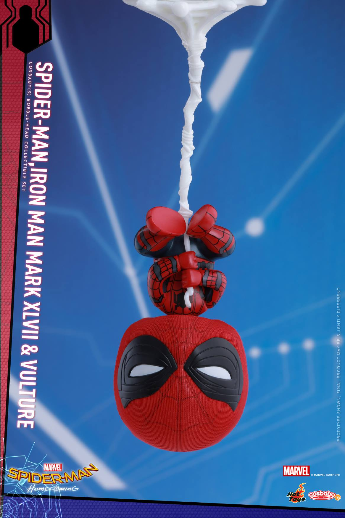 Homecoming Spider Man Toys : Spider man homecoming cosbaby bobble head figures by hot
