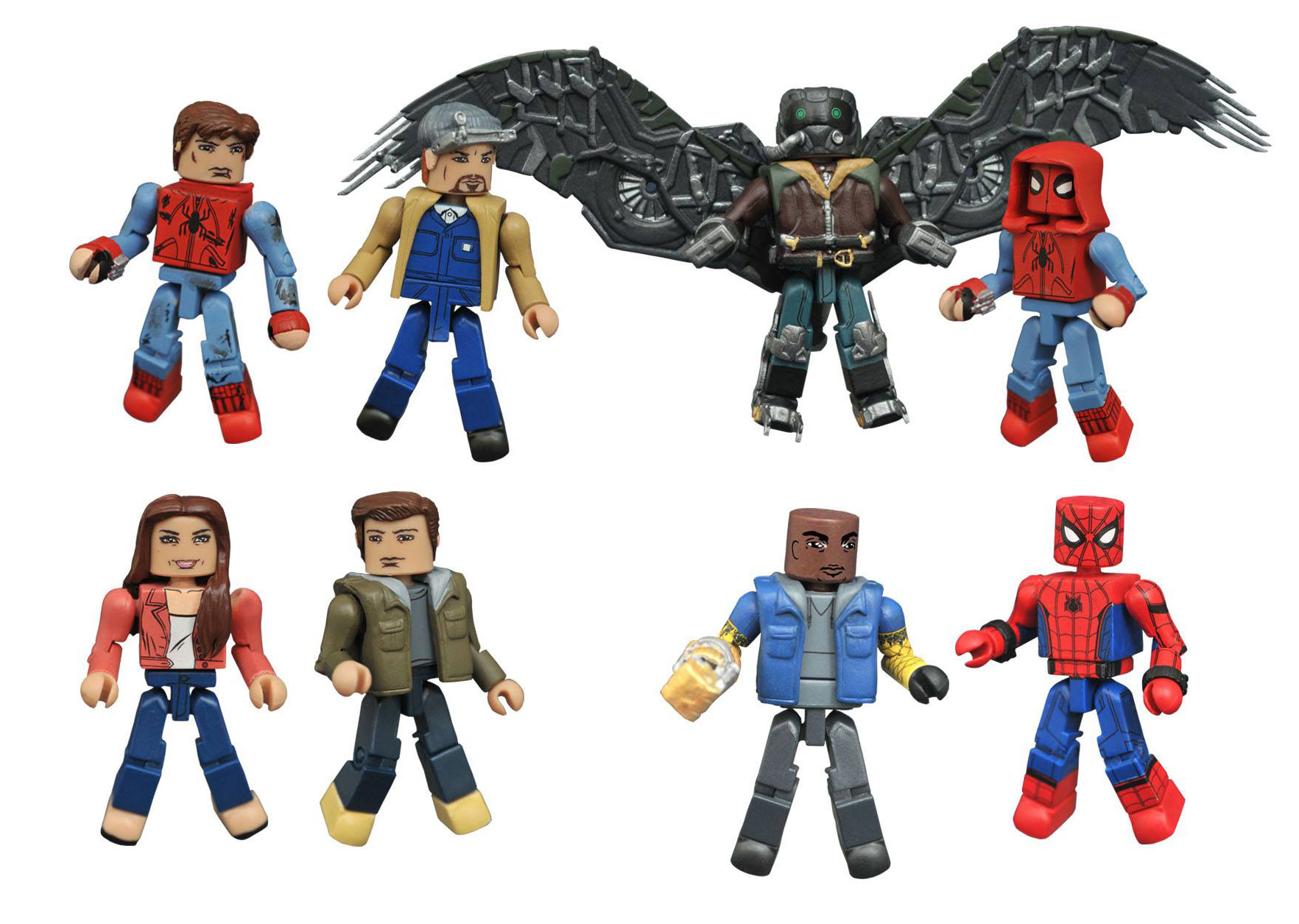 spider-man-homecoming-minimates-figures