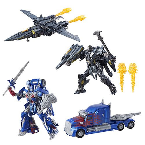 transformers the last knight premier leader figures