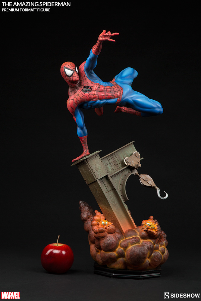 The-Amazing-Spider-Man-Premium-Format-Figure-by-Sideshow-Collectibles-2