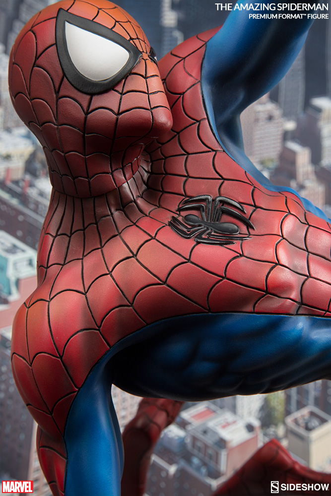 The-Amazing-Spider-Man-Premium-Format-Figure-by-Sideshow-Collectibles-5