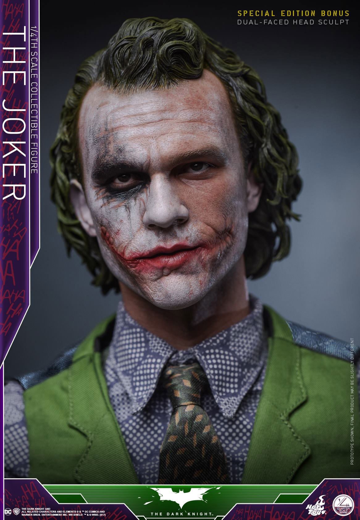 The Dark Knight The Joker Figure By Hot Toys