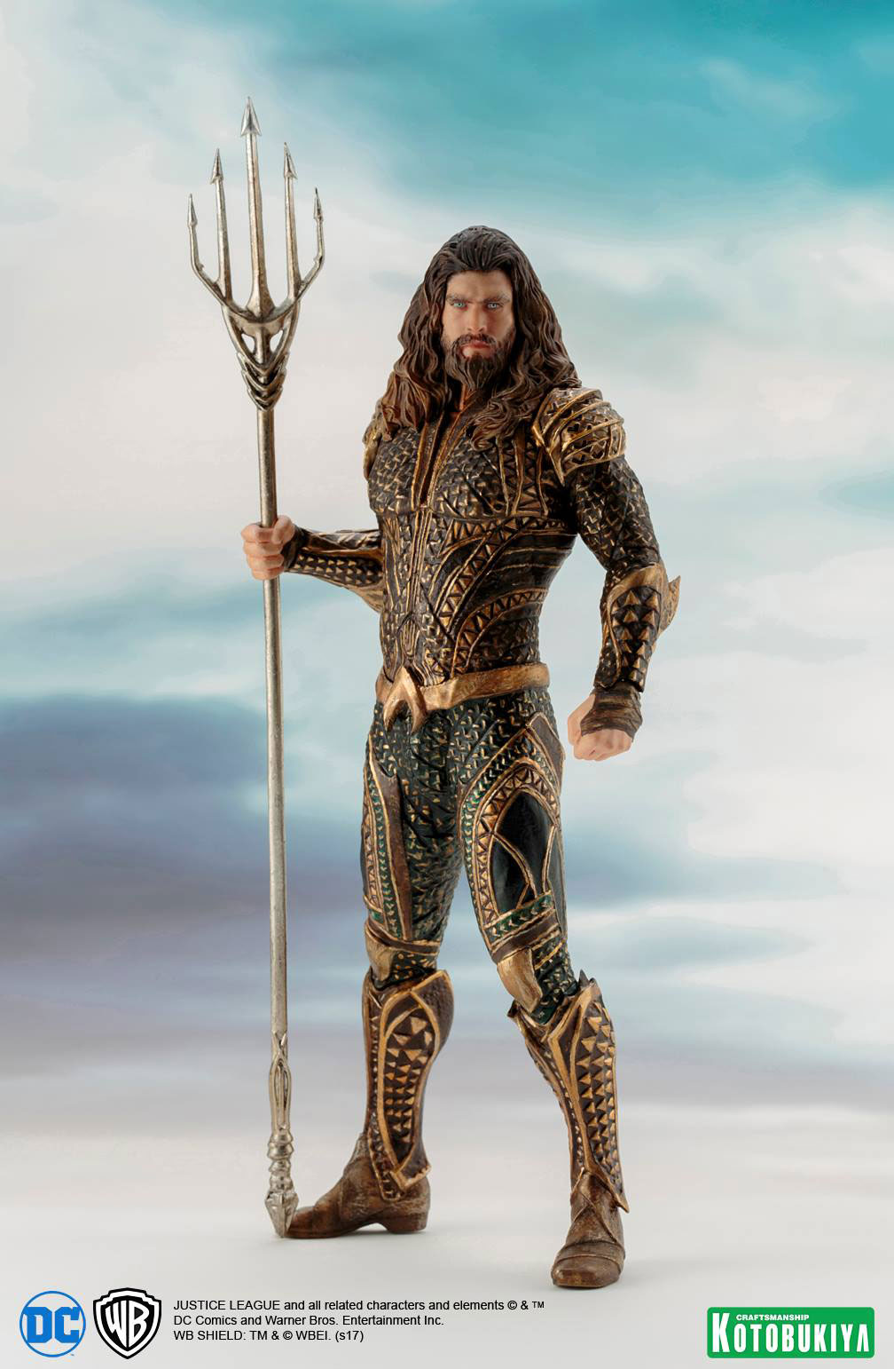kotobukiya-justice-league-aquaman-statue