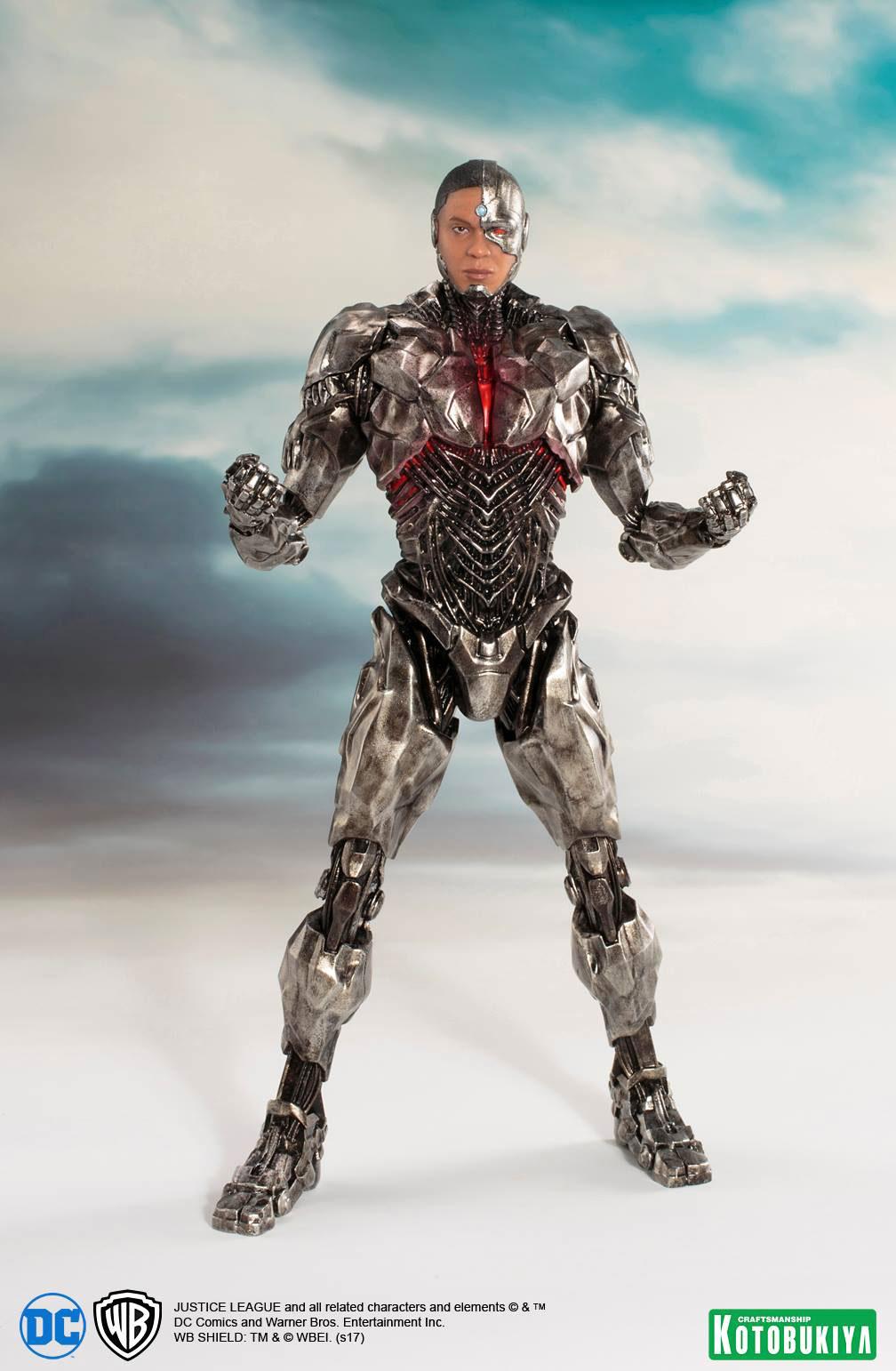 kotobukiya-justice-league-cyborg-statue