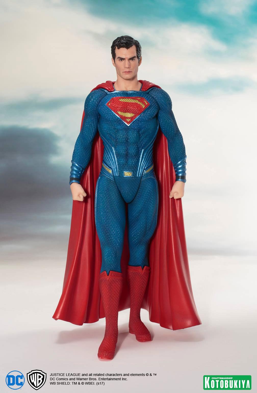 kotobukiya-justice-league-superman-statue