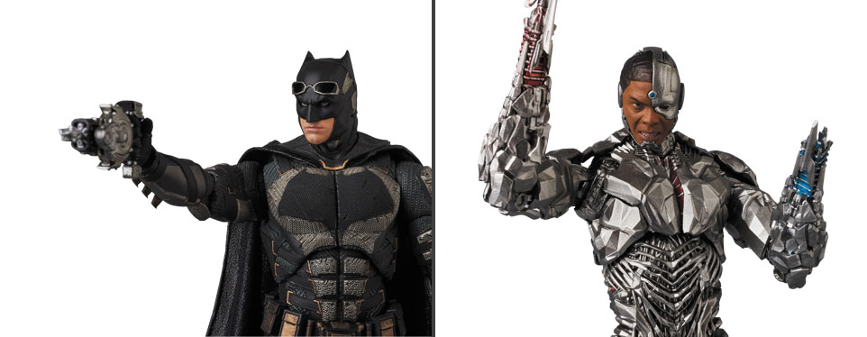 MAFEX-Justice-League-Batman-and-Cyborg