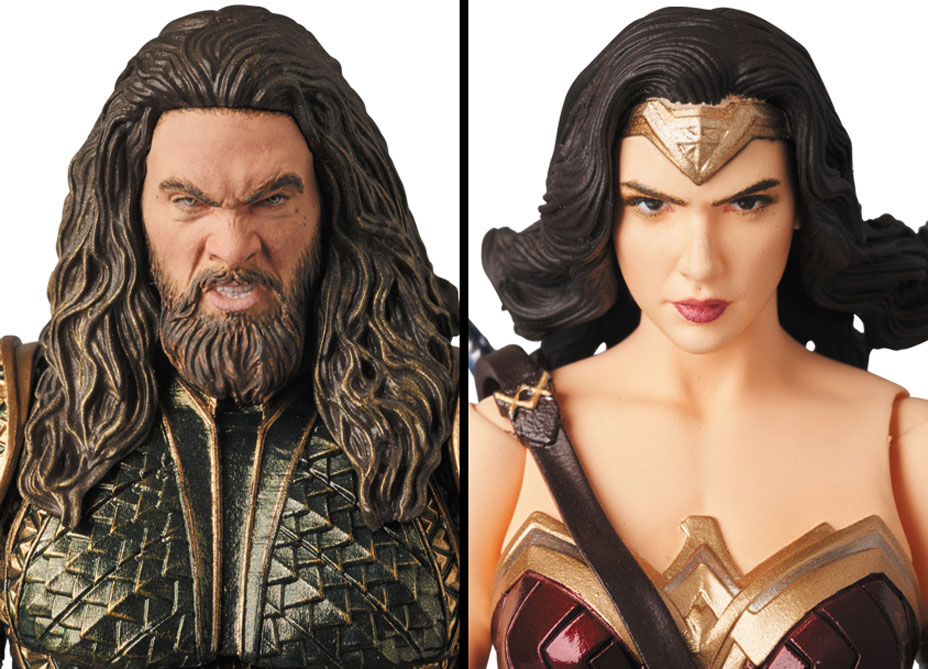 MAFEX-Justice-League-Wonder-Woman-and-Aquaman