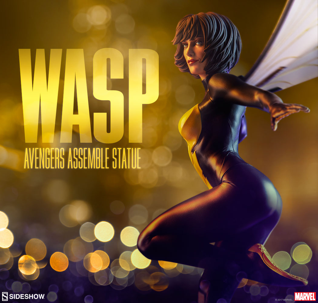 avengers-assemble-wasp-statue-sideshow-1