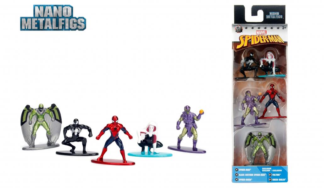 marvel-nano-metalifgs-spiderman-figures