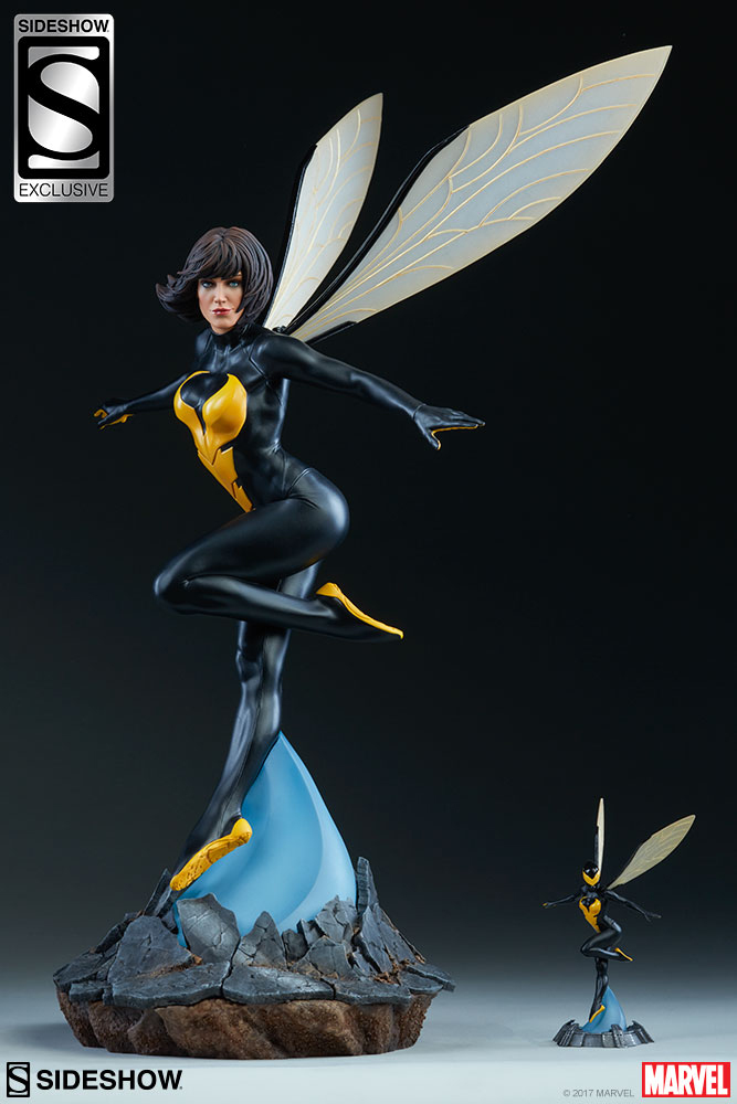 wasp-avengers-assemble-sideshow-statue