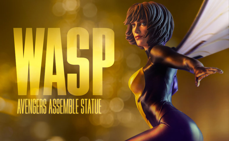 wasp-avengers-assemble-statue-sideshow