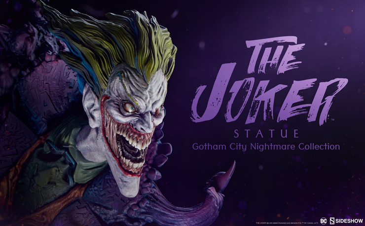 sideshow-joker-gotham-city-nightmare-statue-teaser