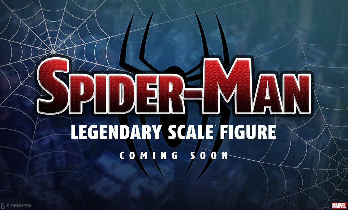 spider-man-legendary-scale-sideshow-figure-teaser