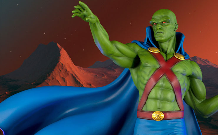 tweeterhead-martian-manhunter-maquette