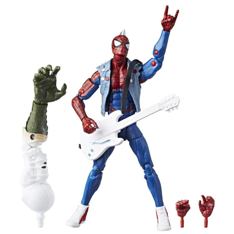 marvel legends spider punk figure