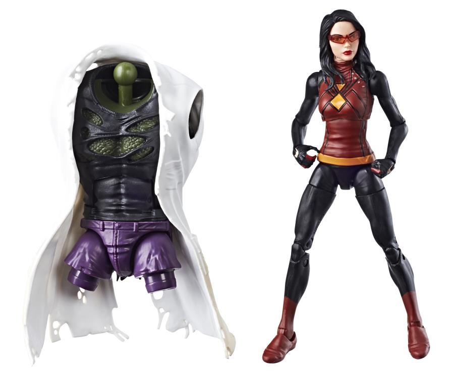 marvel legends spider woman figure