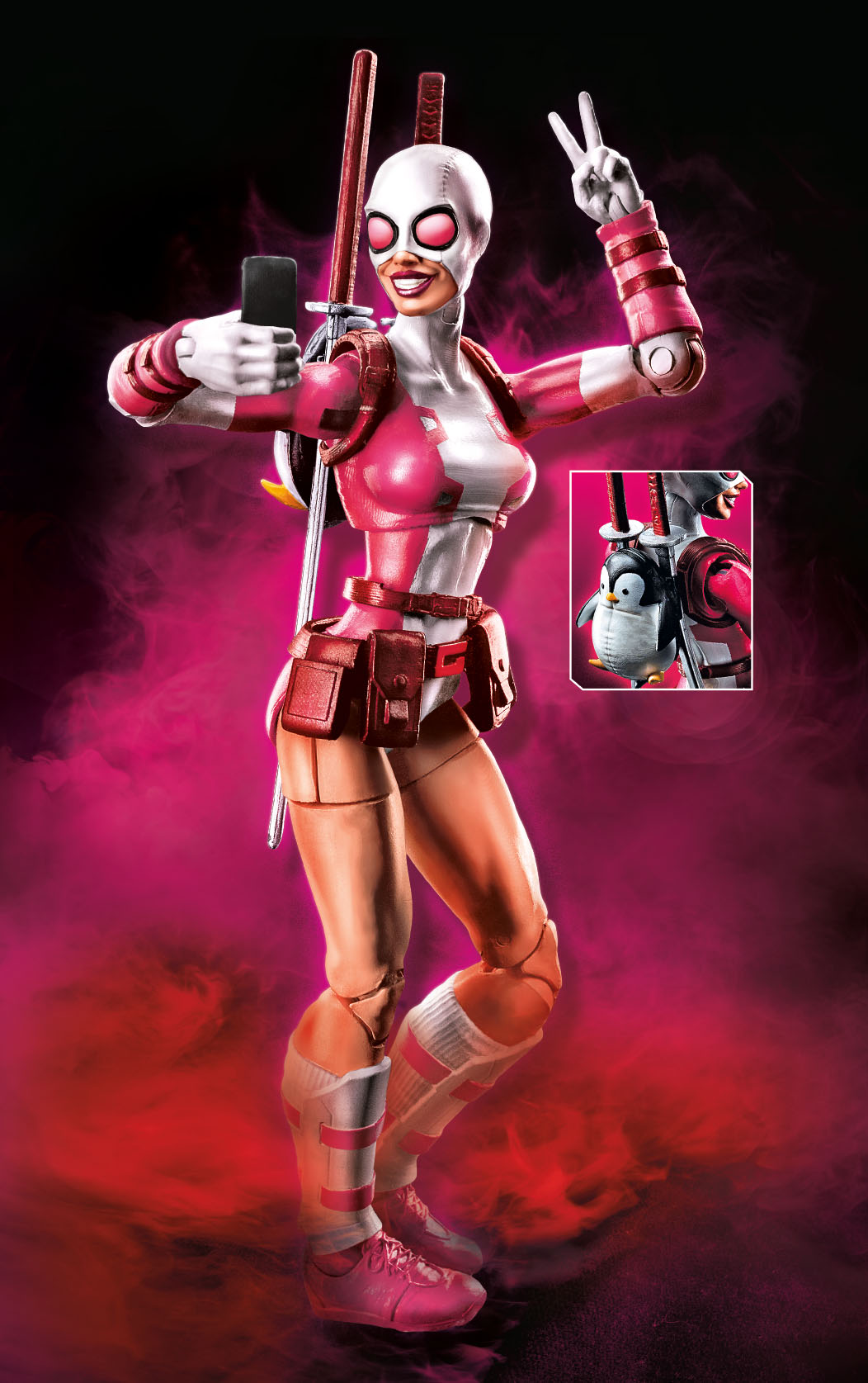 Marvel-Legends-Spider-Man-Series-6-inch-Gwenpool