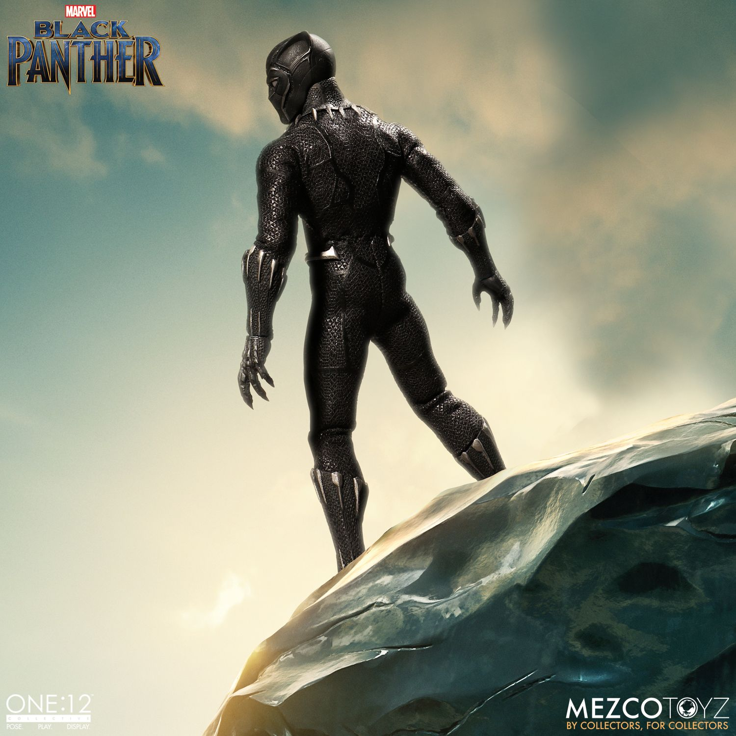 black panther mezco one 12 figure 1