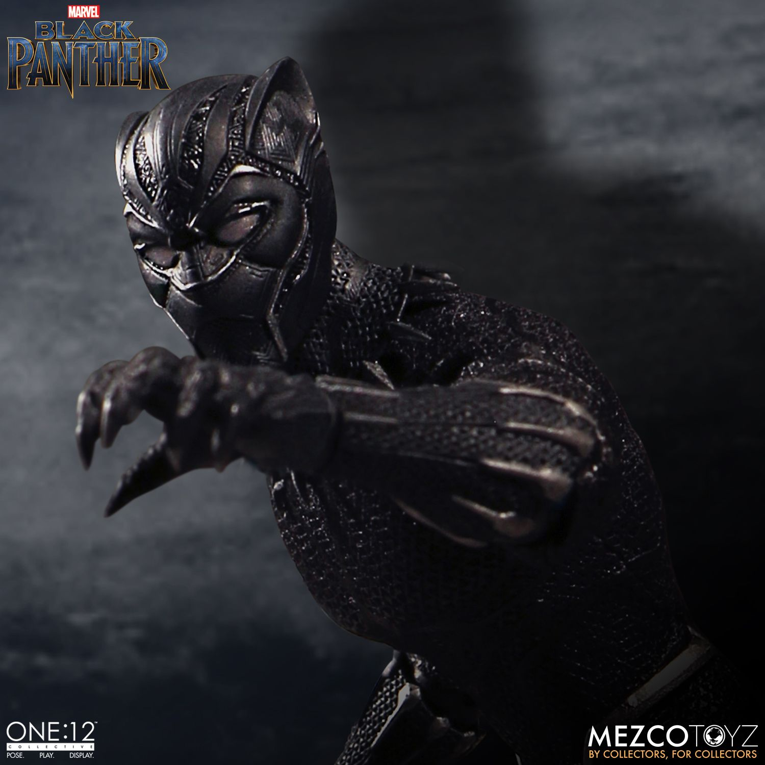 black panther mezco one 12 figure 2