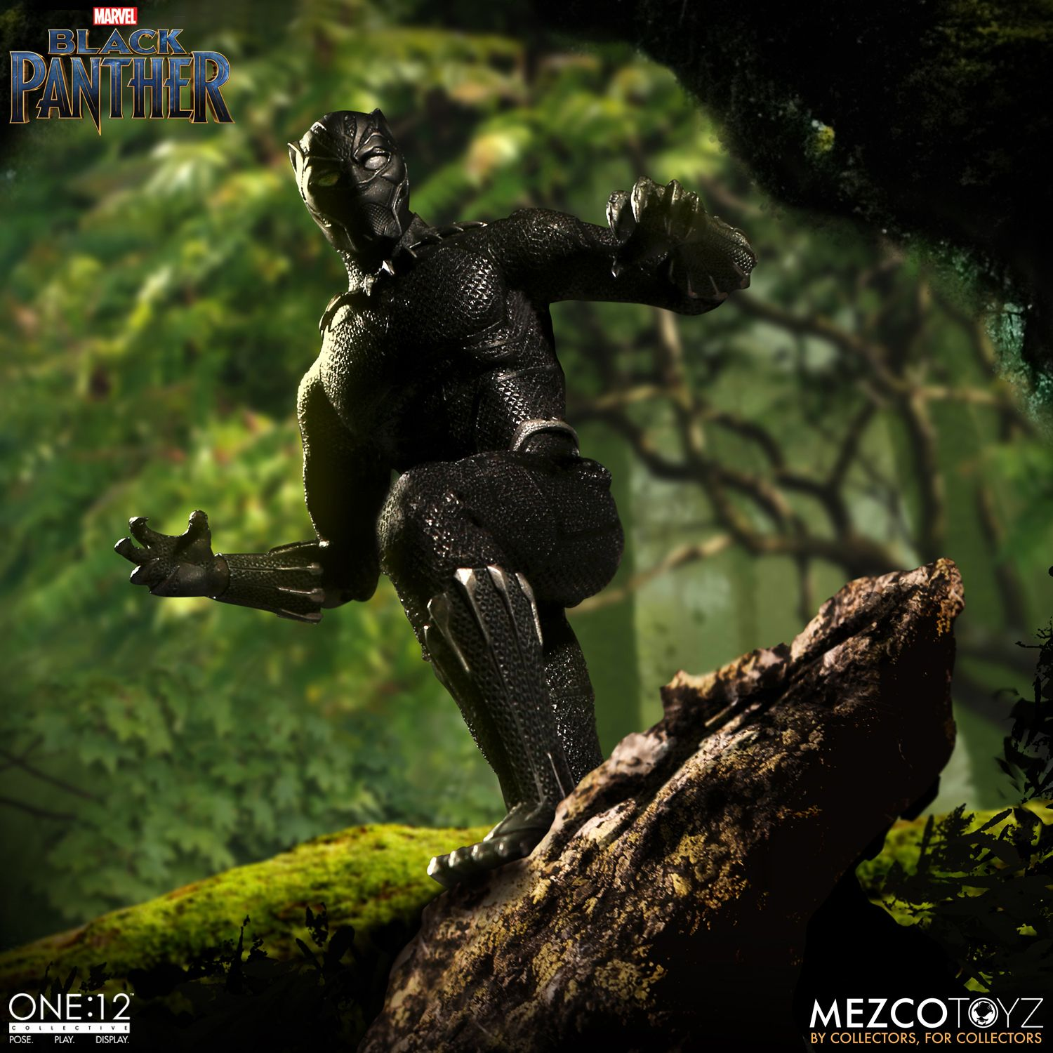 black panther mezco one 12 figure 3