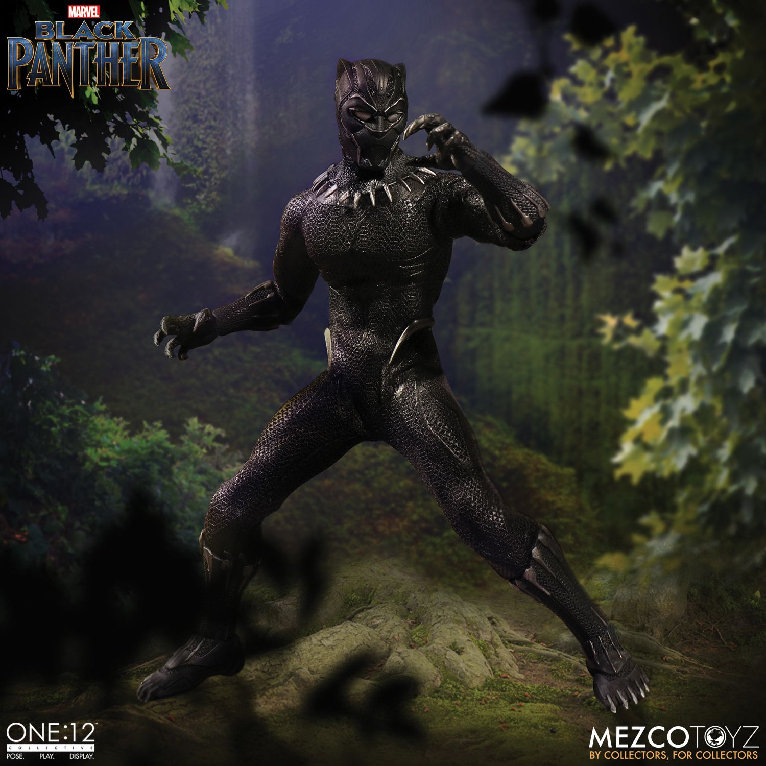 black panther mezco one 12 figure 4