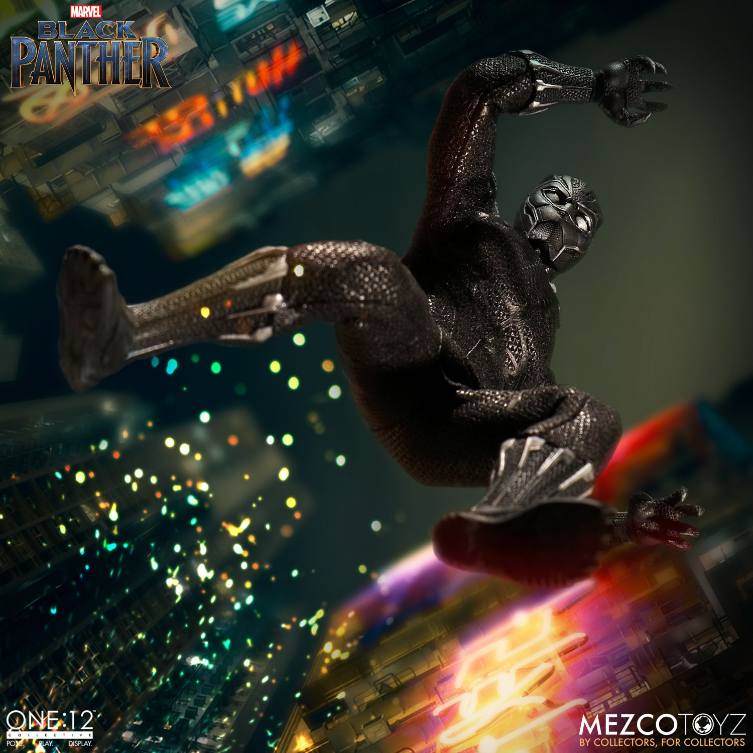 black panther mezco one 12 figure 5