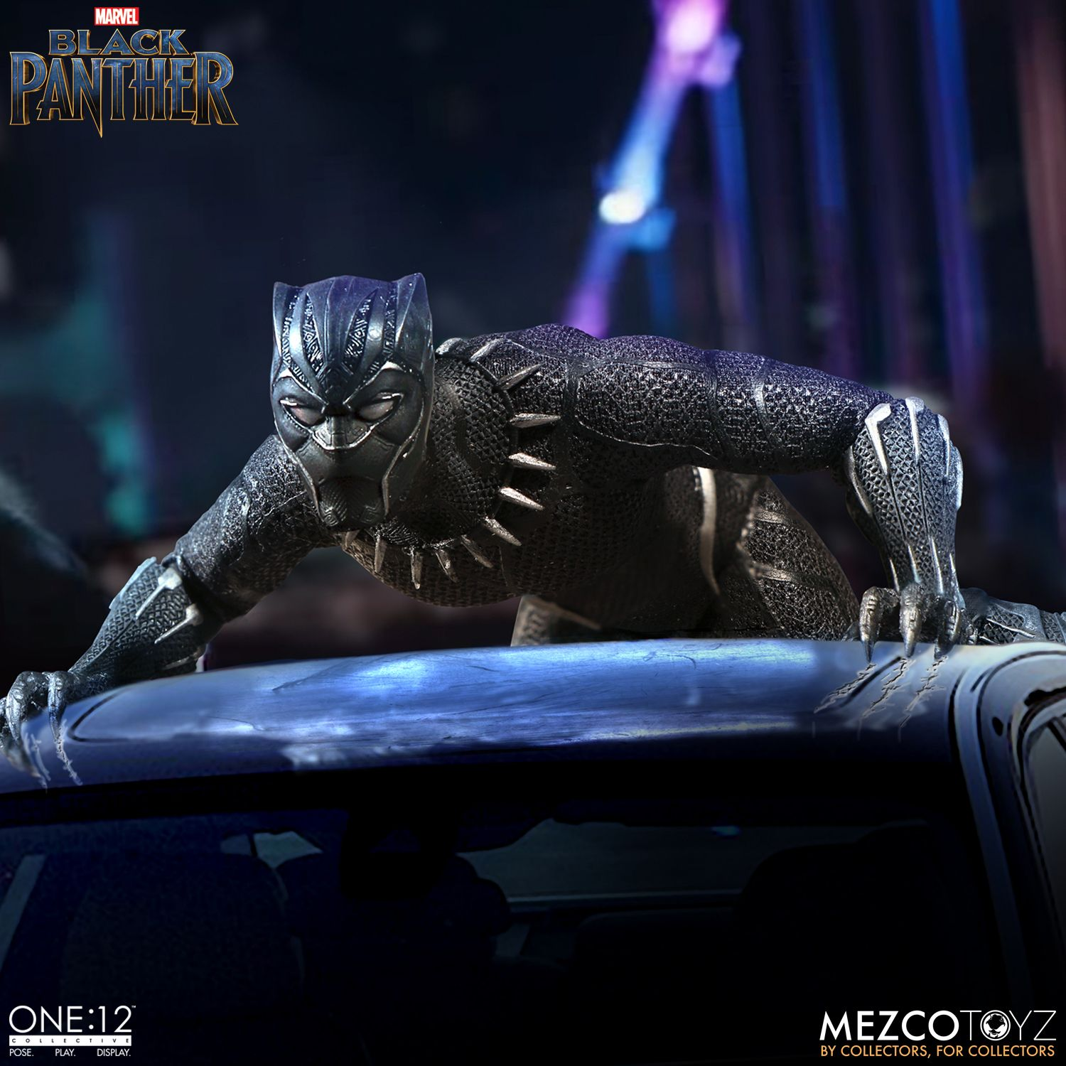 black panther mezco one 12 figure 6
