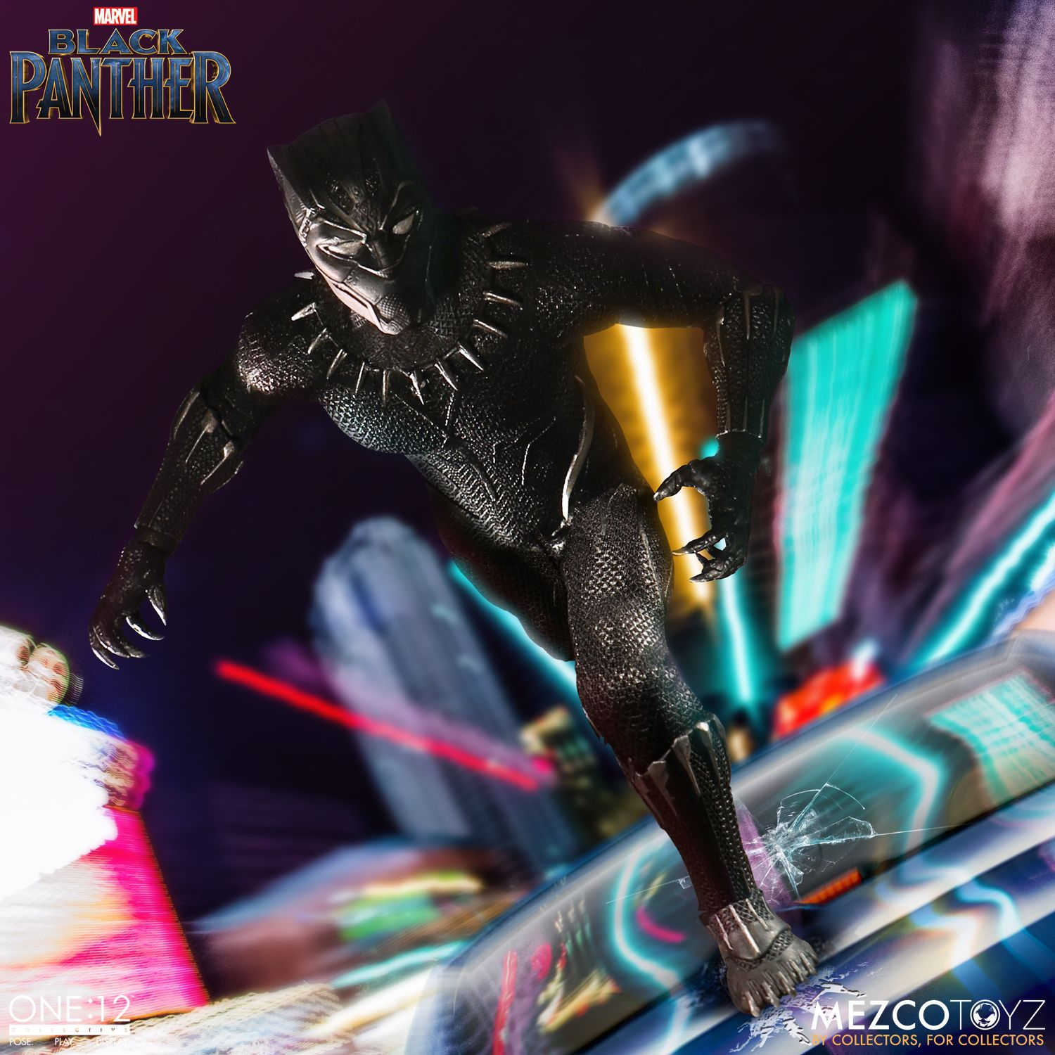 black panther mezco one 12 figure 7