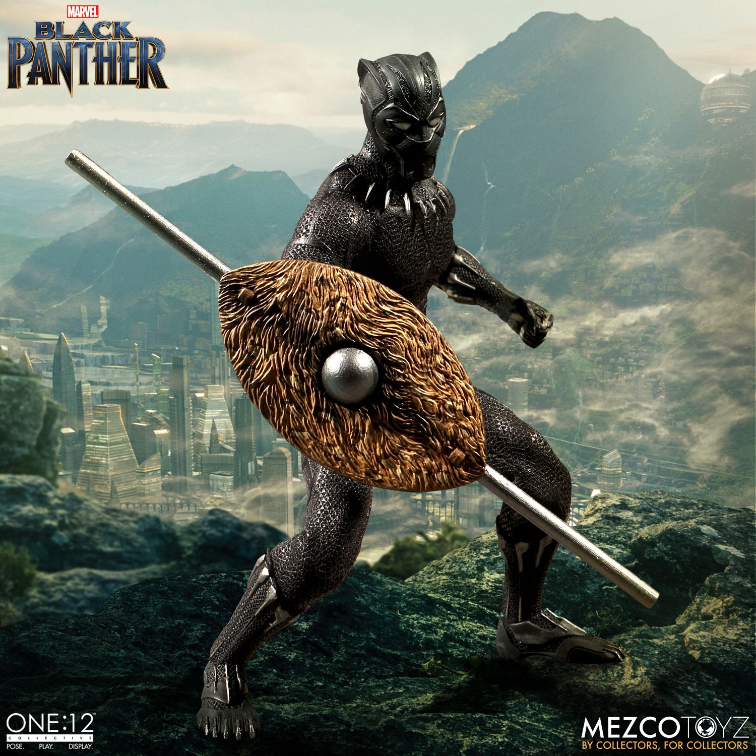 black panther mezco one 12 figure 8