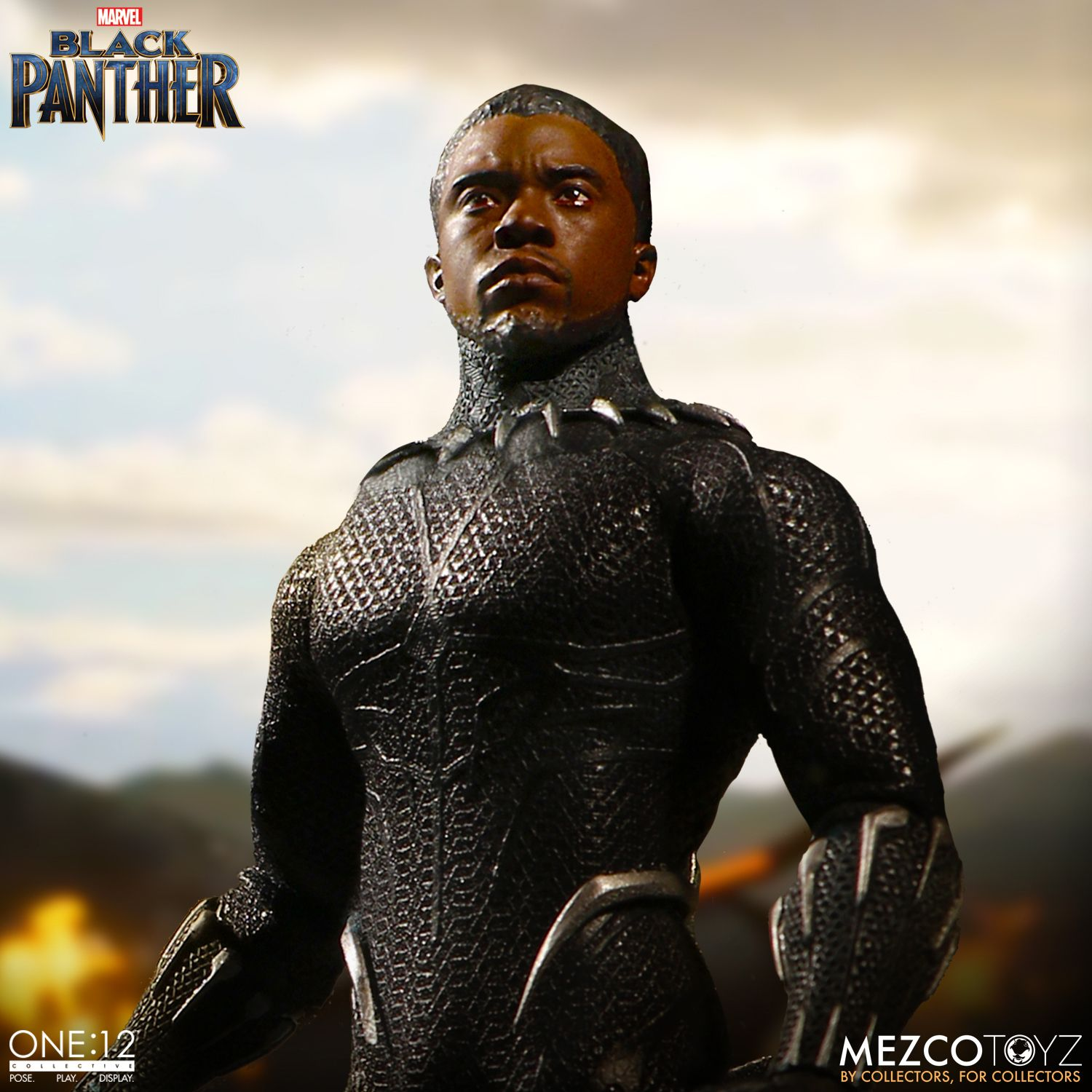 black panther mezco one 12 figure 9