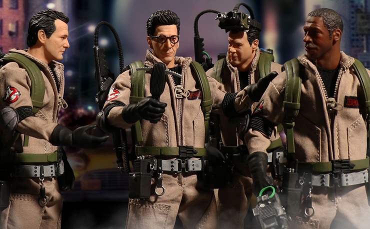 ghostbusters-mezco-toyz-action-figures