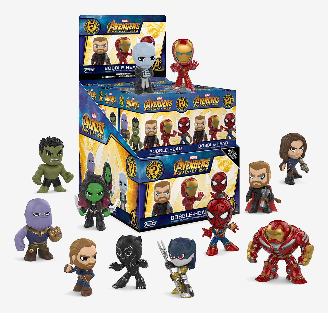 Funko-Mystery-Minis-Infinity-War-hot-topic-exclusives
