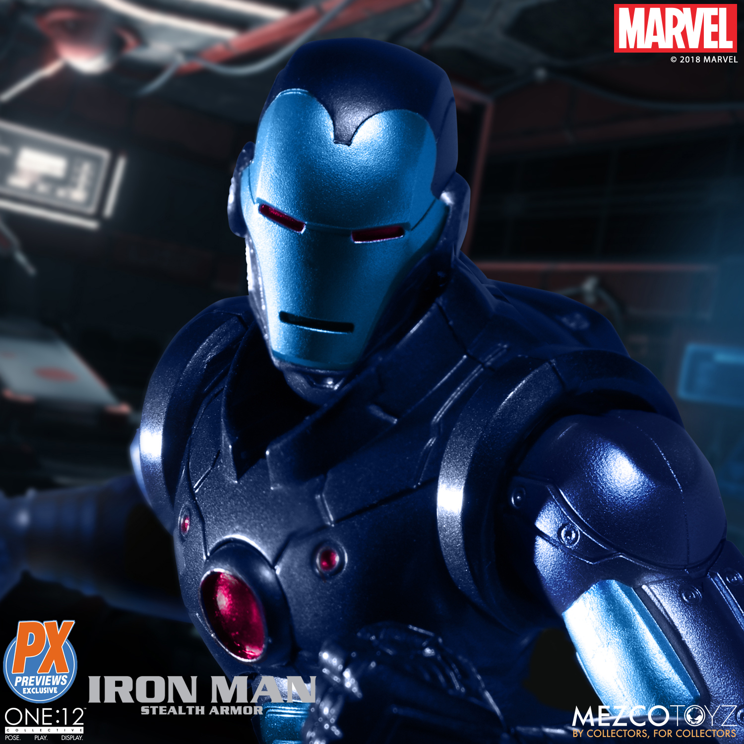 Mezco-One12-Previews-PX-Exclusive-Iron-Man-1