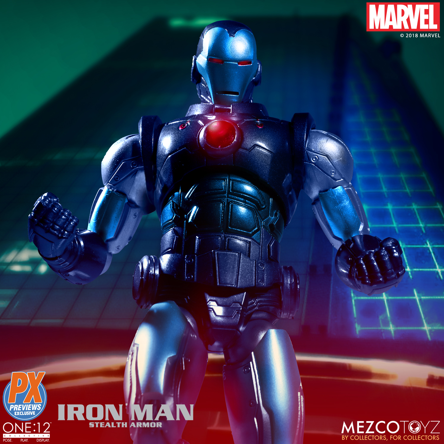 Mezco-One12-Previews-PX-Exclusive-Iron-Man-3