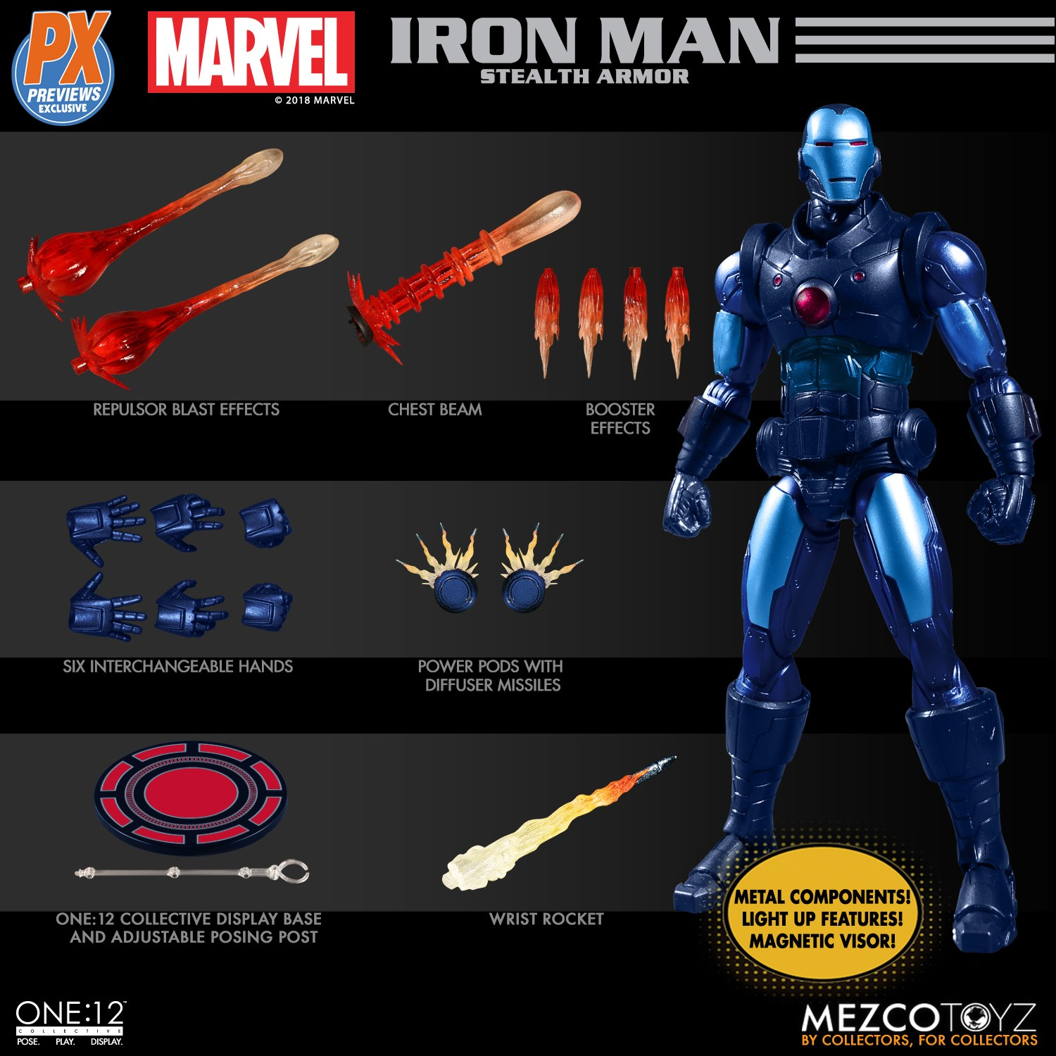 Mezco-One12-Previews-PX-Exclusive-Iron-Man-5