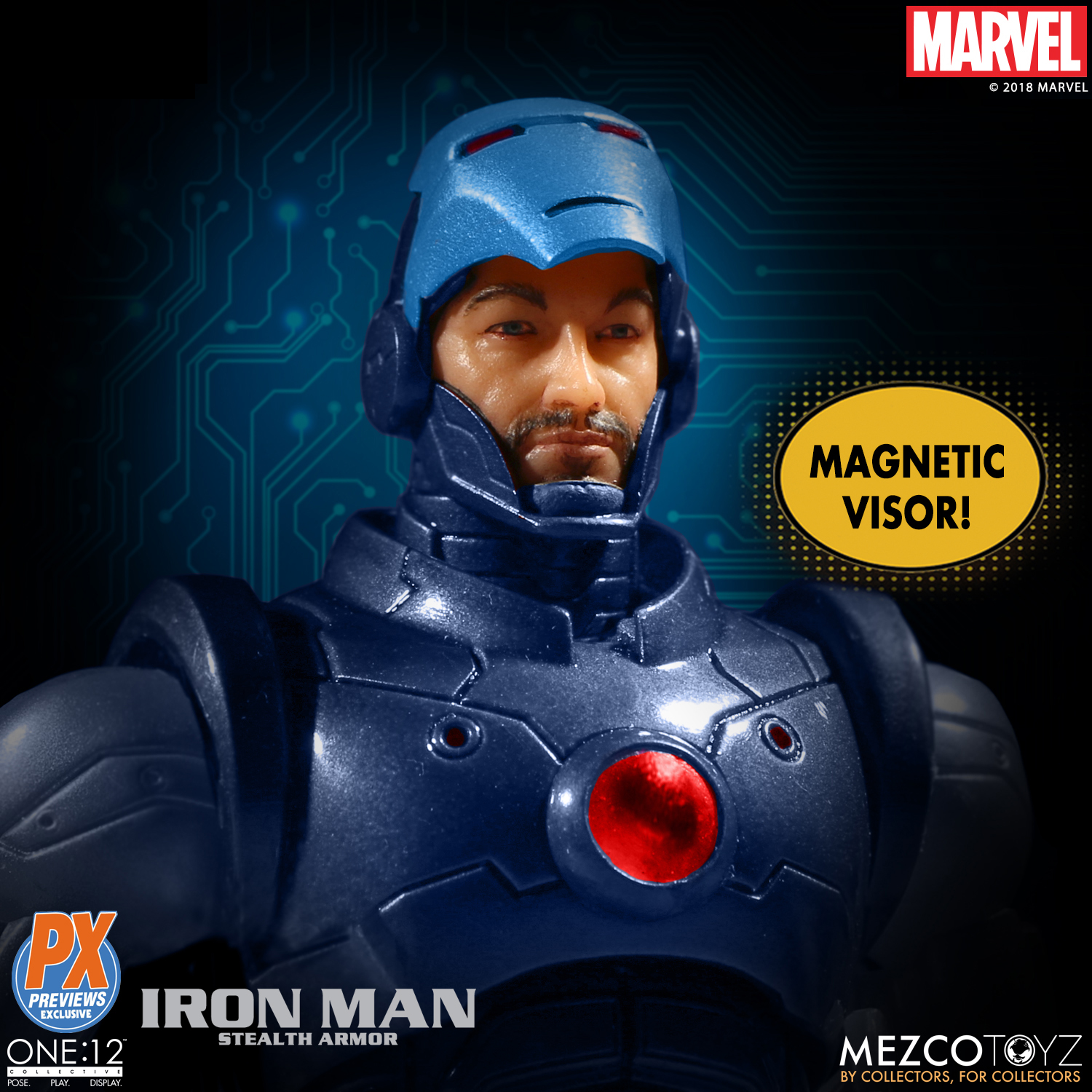 Mezco-One12-Previews-PX-Exclusive-Iron-Man-6